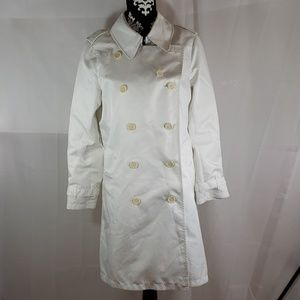 Burberry rain coat size size 10 R